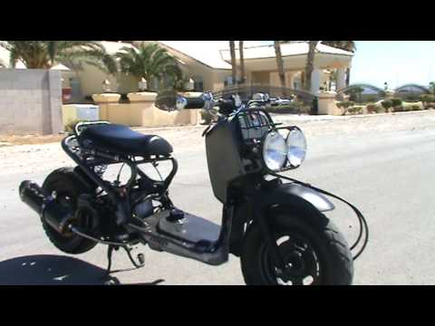 Honda Ruckus Two Brothers Exhaust Video