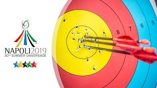 Live: Recurve finals | Napoli 2019 Universiade
