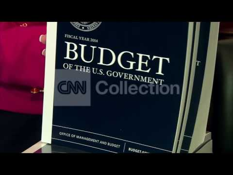 PRES OBAMA'S BUDGET ROLLED OUT(MORE BROLL)