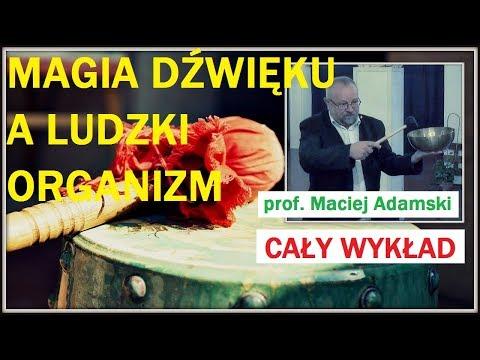 MAGIA DŹWIĘKU, A LUDZKI ORGANIZM  -  CAŁY WYKŁAD - Prof  Maciej Adamski - 15.09.2017 R.