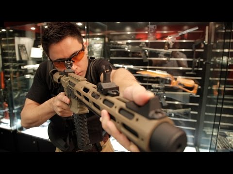 SNEAK PREVIEW: ARES AMOEBA Honey Badger - RedWolf Airsoft RWTV