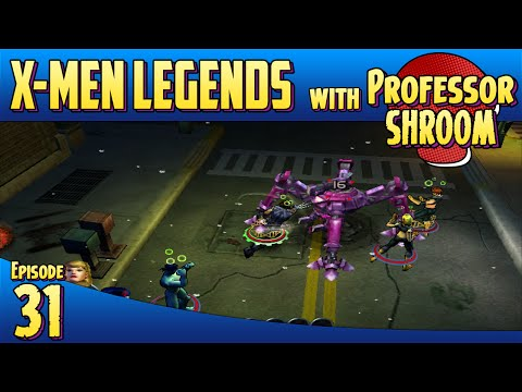 X-Men Legends - EP31 - Sentinels Weapons Platform!