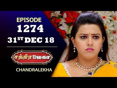 CHANDRALEKHA Serial | Episode 1274 | 31st Dec 2018 | Shwetha | Dhanush | Saregama TVShows Tamil