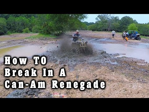 River Run | How To Break In A Can-Am Renegade XMR 1000
