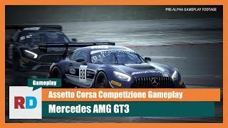 Assetto Corsa Competizione Gameplay - Mercedes AMG GT3 @ Misano Wet AI Race