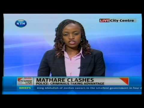 Violence and looting in Mathare area after supreme court ruling