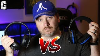 SHOWDOWN! : NEW 2018 Sony Playstation Gold Wireless VS Turtle Beach Stealth 600