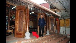 """Thực hư ngôi nhà bằng Gỗ Sưa có giá """"trăm tỷ"""" đồng ở Bắc Giang!"""