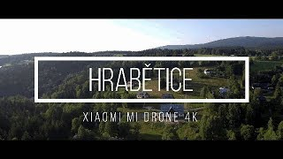 Hrabětice v Jizerských horách   Xiaomi Mi Drone 4K  