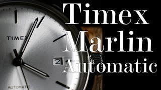 Timex Marlin Automatic Review : One Year of Relative Time (TW2T22700ZV)