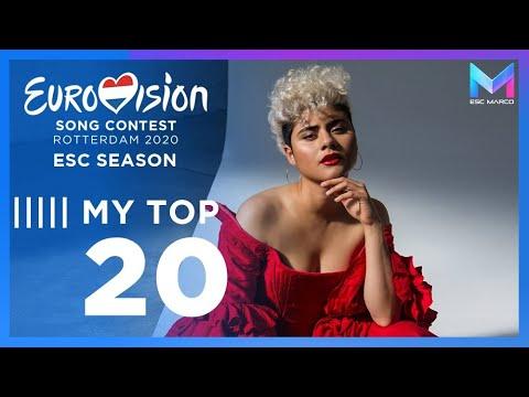 Eurovision 2020 Season - MY TOP 20 (so far) | (01/02/20)
