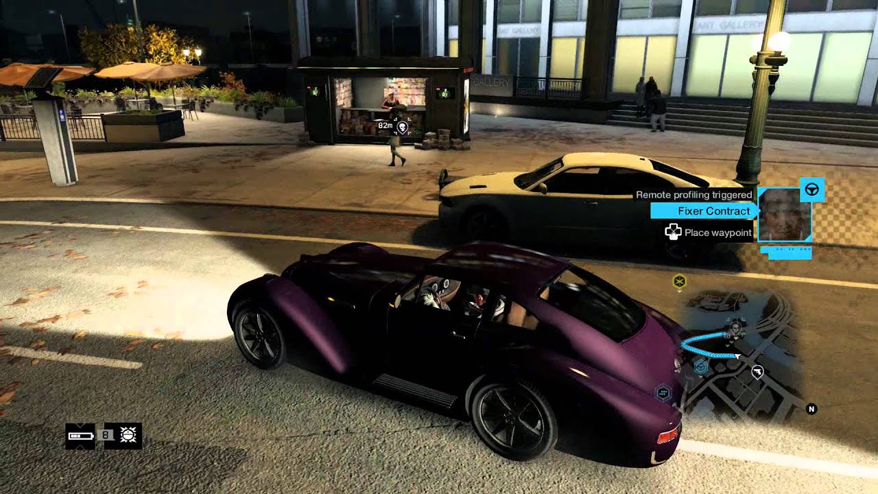Watch Dogs All Car Dealership Location