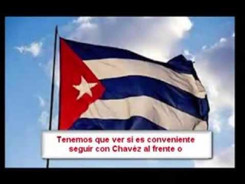 Reunión de alto mando militar Cubano planificando muerte de Chavez