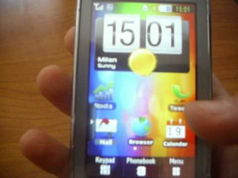 Samsung star - HTC mod (Android)