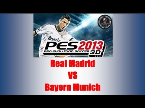 PES 2013 - Pro Evolution Soccer 3D Nintendo 3DS + Real Madrid VS Bayern Munich