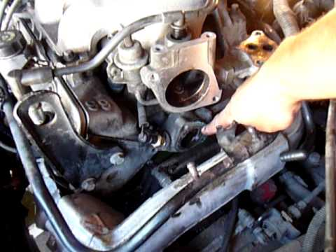 how to change thermostat in 1999 pontiac grand prix