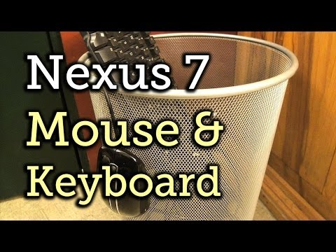 Turn Your Nexus 7 Tablet into a Mouse & Keyboard for Your Computer [How-To]