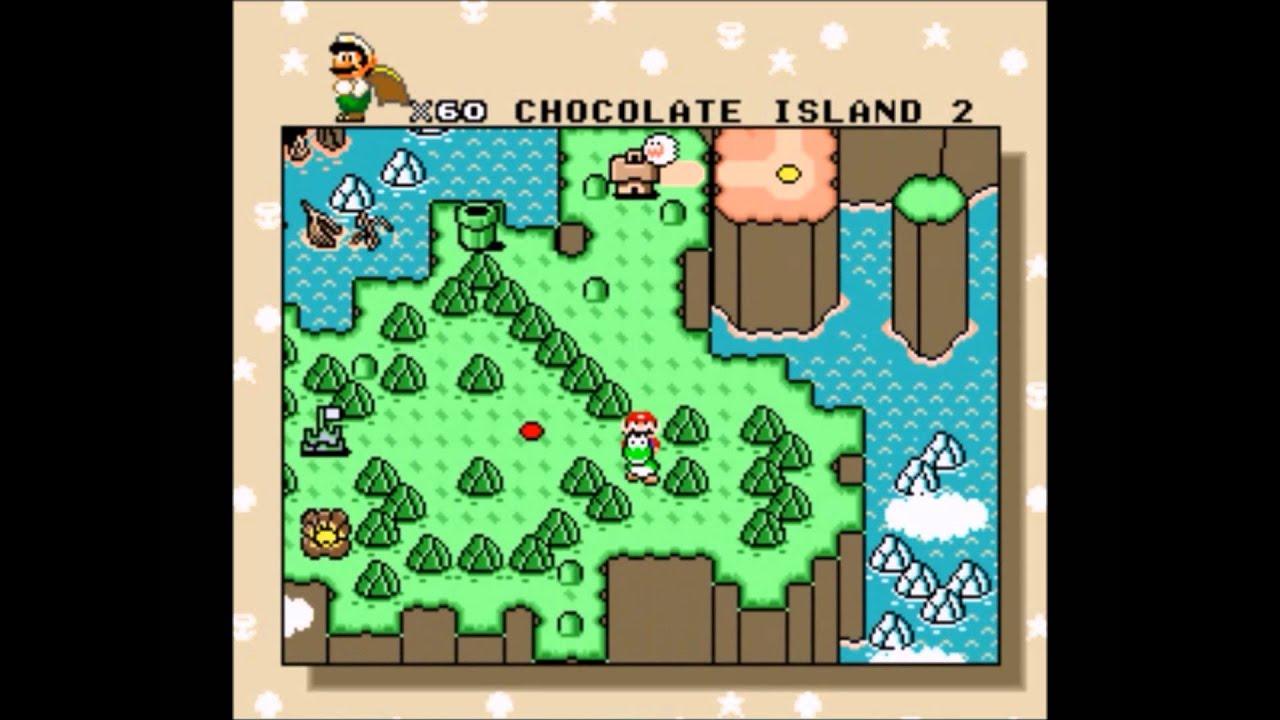 Mapa Completo Super Mario World Super Nintendo Super Mario World Completo
