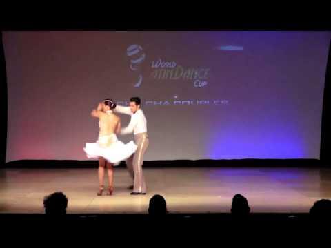 Csaba & Judith, Australia, ChaChaCha Couple,Semifinal Round, WLDC 2013