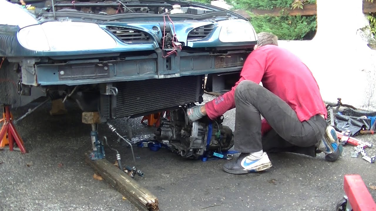 Gearbox Replacement Part 1 Gearbox Removal Youtube