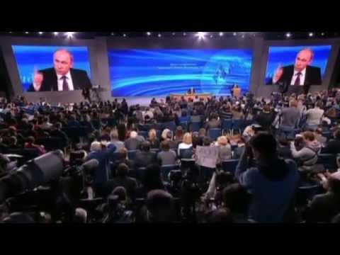 Putin's Annual Conference: Russian leader blames West, NATO and US for Russia current predicament