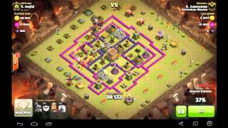 Clash Of Clans Barbarian Saves The Day