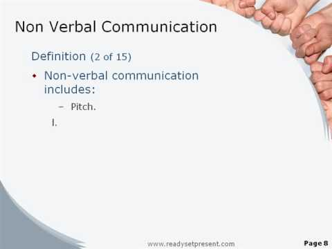 Verbal Communication Powerpoint Communication Powerpoint