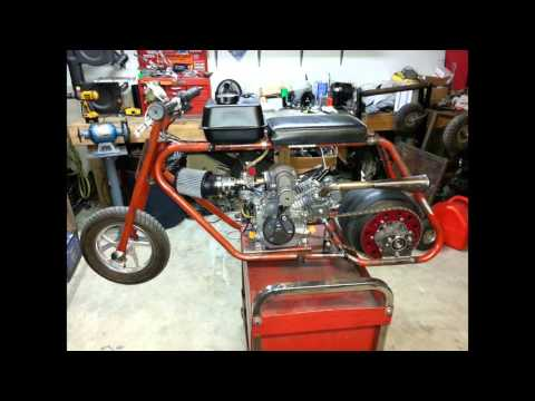 Supercharged Minibike