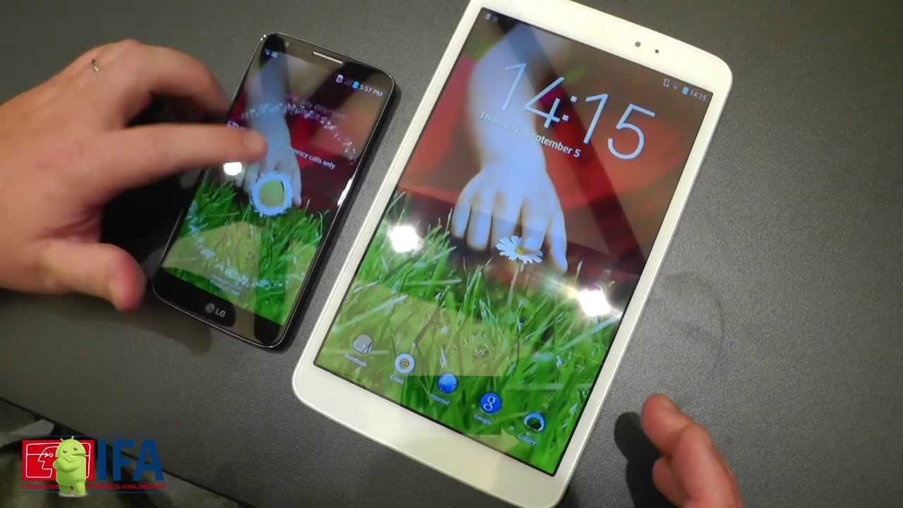 Hands-on with the LG G Pad 8.3