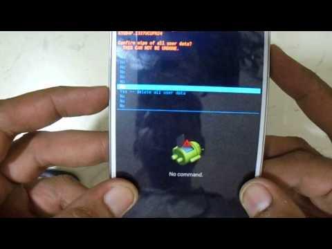 Pattern lock And Hard Reset Samsung GALAXY S4 SGH I337 Eazy