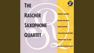 Fugue In G Minor Bwv 578 Arr For Saxophone Quartet