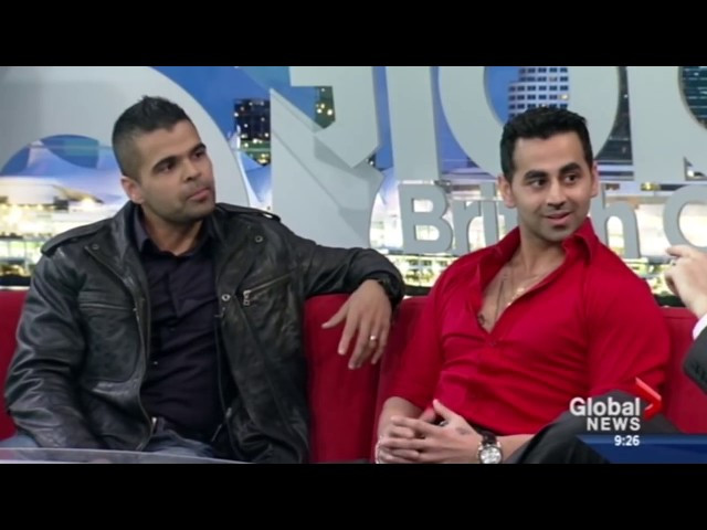 ECCW - Bollywood Boyz on Global BC Promoting BALLROOM BRAWL