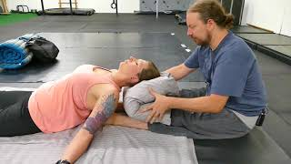 Upper Back Neck Pain Relief Techniques Advanced Thai Massage 1/3