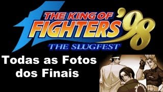 The King of Fighters 98 The Slugfest - All Endings - (Finais Secretos e Fotos Secretas)