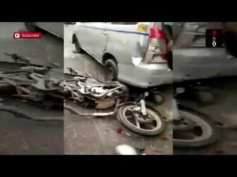 Bus Hits Four Cars In South-West Delhi's Mahipal Pur