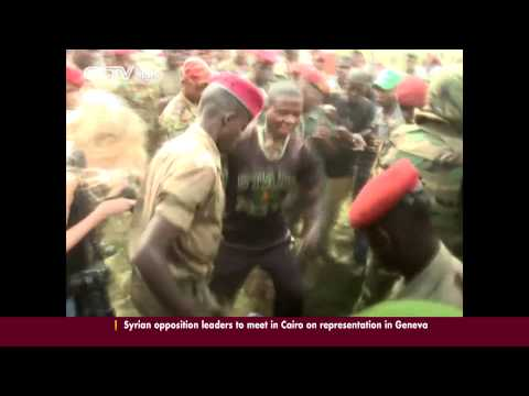 C.A.R Soldiers Lynch 'Ex-rebel' at Military Ceremony