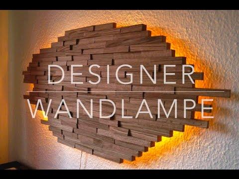 DIY Designer Wand Lampe Selber Bauen Anleitung