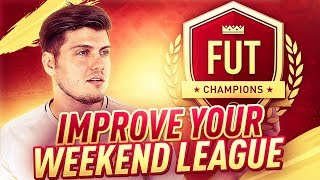 HOW TO WIN MORE IN FIFA 19 FUT CHAMPIONS ** TOP 5 **