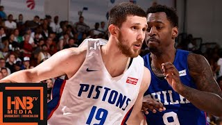 Philadelphia Sixers vs Detroit Pistons Full Game Highlights | July 10 | 2019 NBA Summer League
