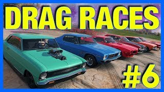 Forza Horizon 4 Let's Play : Drag Racing Missions!! (Part 6)