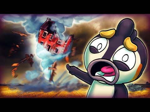 Minecraft | REALISTIC TORNADO CHALLENGE: Tornado Natural Disaster!