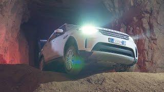 Land Rover Discovery 5 (2017) Untertage unterwegs - Eindrücke