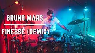 Download Lagu Bruno Mars - Finesse (Remix) feat. Cardi B [Drum Cover] Gratis STAFABAND