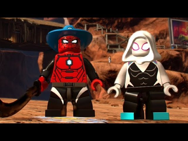 LEGO Marvel Super Heroes 2 - The Old West 100% Guide (All Collectibles) thumbnail