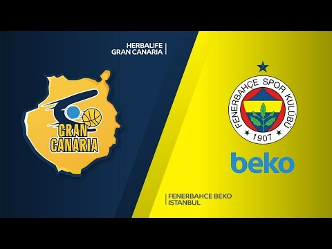 Herbalife Gran Canaria - Fenerbahce Beko Istanbul Highlights | EuroLeague RS Round 19