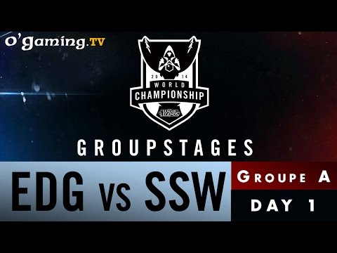 World Championship 2014 - Groupstages - Groupe A - EDG vs SSW