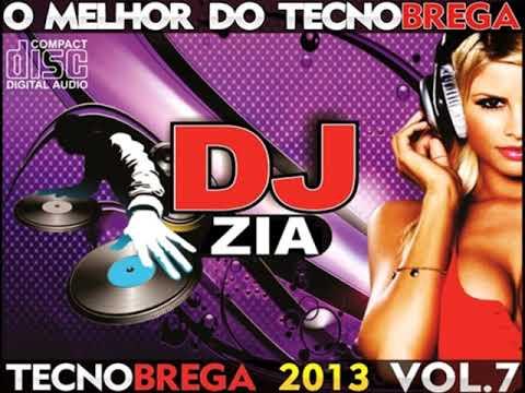 CD TECNO BREGA VOL 7 ''DJ ZIA VOL 7 ''2013''