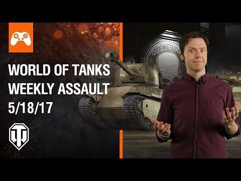 World of Tanks Weekly Assault #4