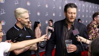 Blake Shelton & Adam Levine On Winning & Adam