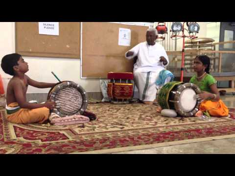 Dolu thavil Tani-avartham By Raga And Pranav Dasana video